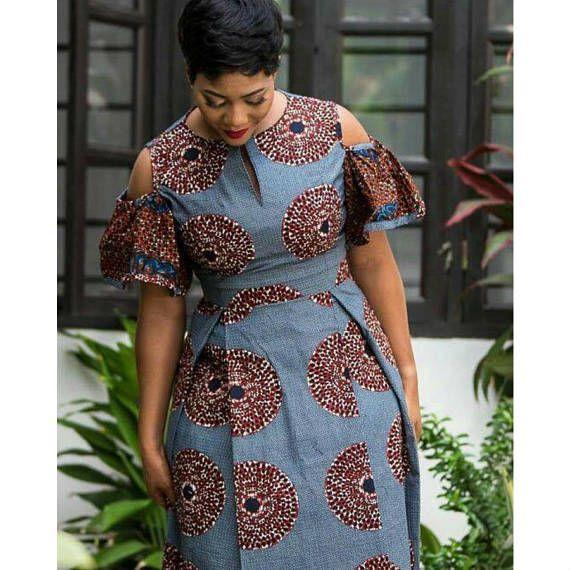 Robe africaine African clothing robe Ankara robe imprimée