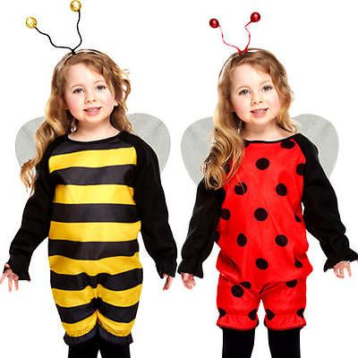 #Ladybug or bee #toddlers fancy dress #animal insect girls boys costume 2 - 3 yea,  View more on the LINK: 	http://www.zeppy.io/product/gb/2/381576571137/