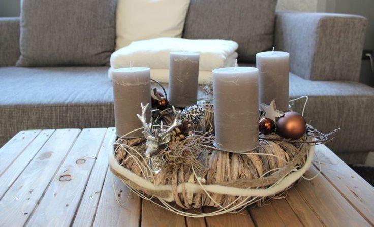 179 besten advent und weihnachten bilder auf pinterest for Adventskranz edelstahl dekorieren