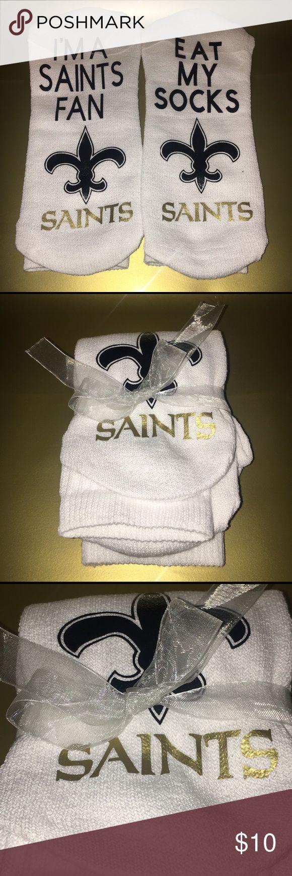 Men's Sports Tube socks Saints Men's Sports Tube socks Saints fits shoe size 6-11 Underwear & Socks Casual Socks