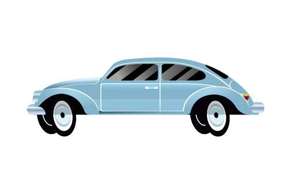 Blue Car Vector #bluecar #vector #vectorpack http://www.vectorvice.com/cars-vector
