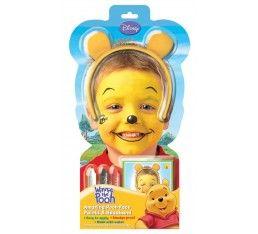 Leuke Winnie the Pooh schmink voor kinderen. Eenvoudig aan te brengen en te verwijderen met water. Er zit een duidelijke gebruiksaanwijzing bij.