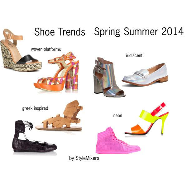 """Shoe Trends Spring Summer 2014"" by stylemixers on Polyvore"