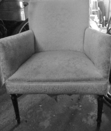 Antique Upholstered Chair 45