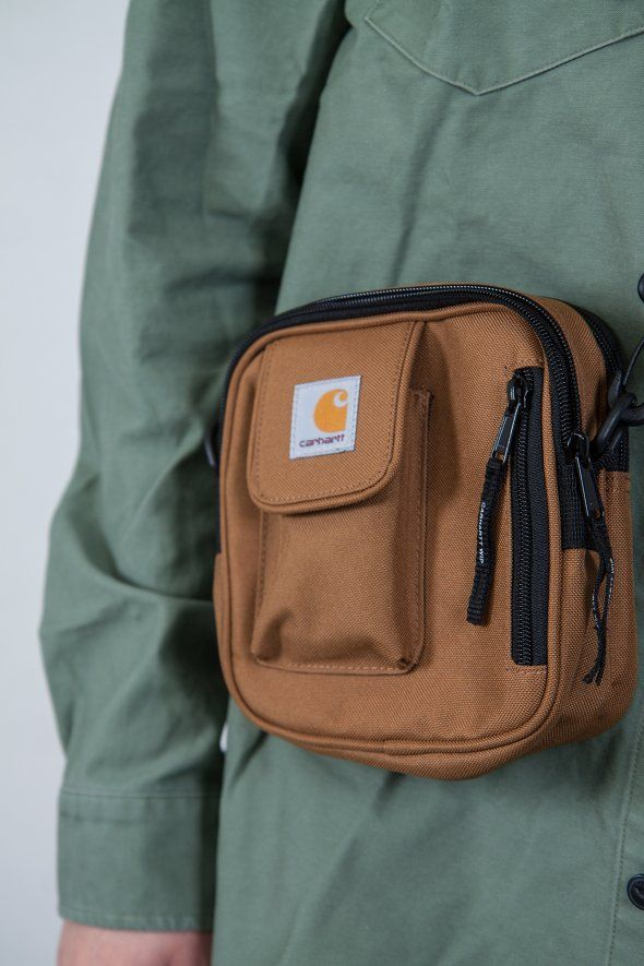 Carhartt - Essentials Bag Small, carhartt bag, carhartt brown, carhartt clothing, carhartt work in progress, carhartt accessories, accessories,