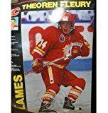 Theoren Fleury Flames Poster