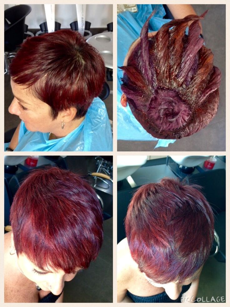 Koleston Perfect. & Color ID I wouldn't do this but this is neat