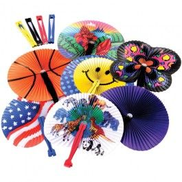 Folding+Fan+Assortment+/+60-pc+-+Keep+your+guests+cool+in+the+summertime+heat+with+this+assortment+of+folding+fans!++A+perfectly+sized+party+favor,+this+assortment+comes+with+a+variety+of+sizes+and+colors+so+there's+something+entertaining+for+everyone!++Use+this+assortment+as+a+pinata+filler,+goody+bag+filler,+carnival+prizes,+classroom+rewards,+and+much+more!  +-+$9.99