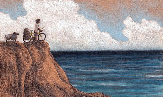 Illustration THE JOURNEY: INFINITY signed print by Ciacio on Etsy