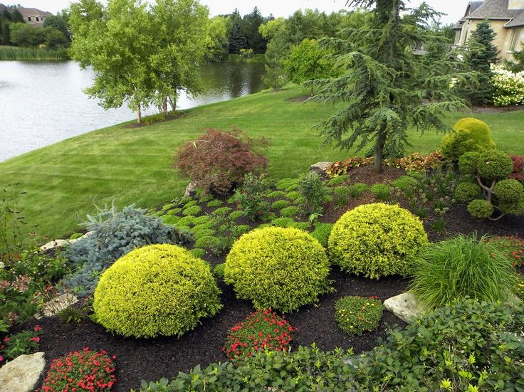 landscaping hillside ideas landscape traditional with lake side resistant outdoor lounge chairs
