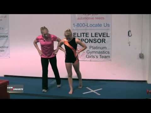 This YouTube channel has short gymnastic training tips from some of the most well known and successful gymnastic coaches