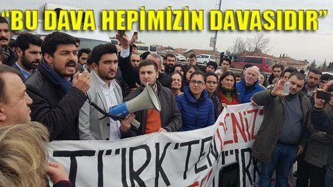 CHP'li gençler Silivri'ye akın etti