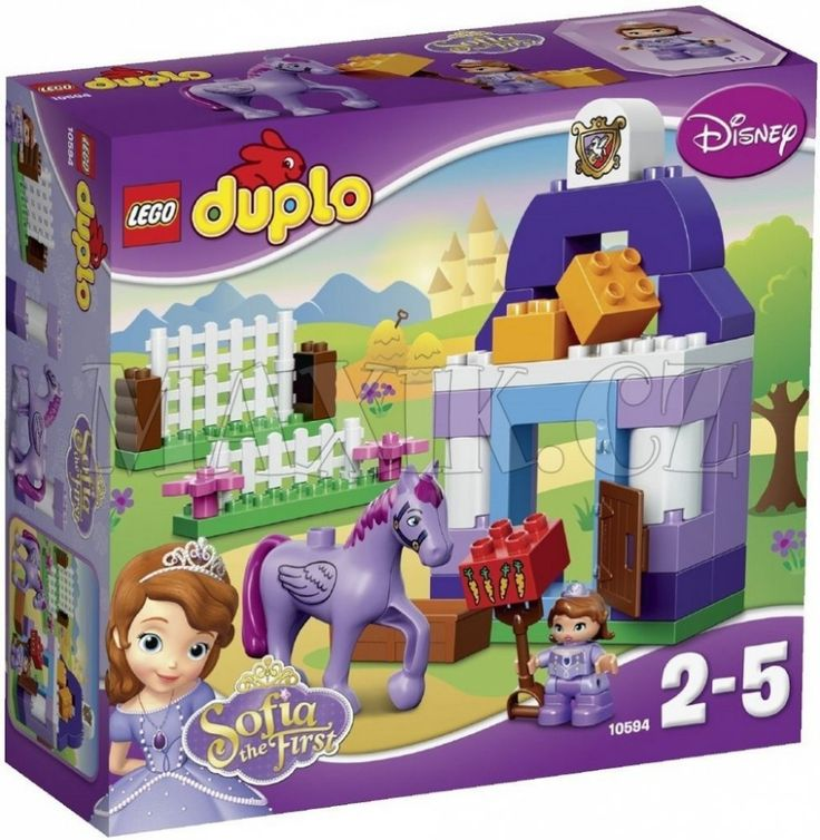 Lego Duplo 10594 Princezna Sofie I. Královské stáje - 0