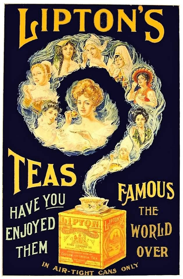 Lipton Tea ca 1900
