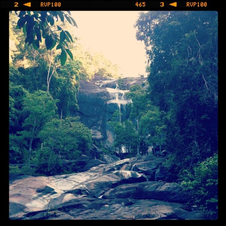 Seven Wells Waterfall, Langkawi, Malaysia February 2013