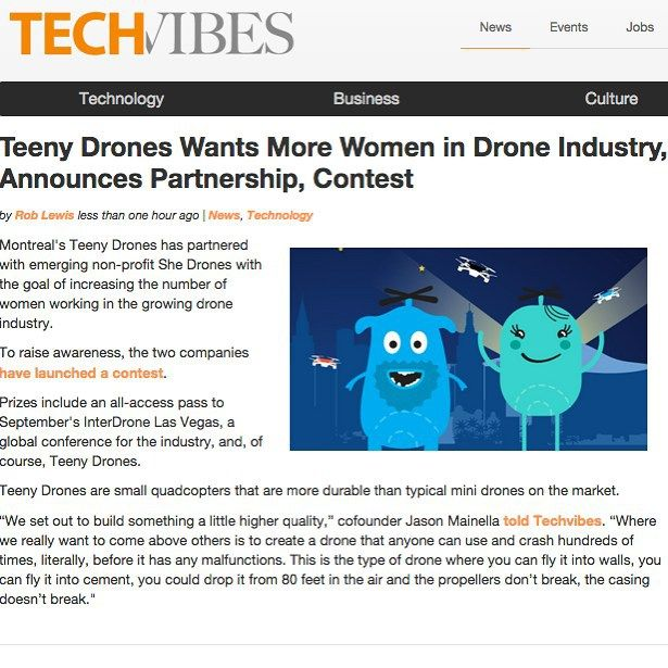 What can we say we are blessed to have supporters like TechVibes around us! #dronesetc #dronesdaily #success #teenydrones #photooftheday #picoftheday #dronestagram #drones #dronelife #geek #tech #technology #feature @shedrones @techvibes