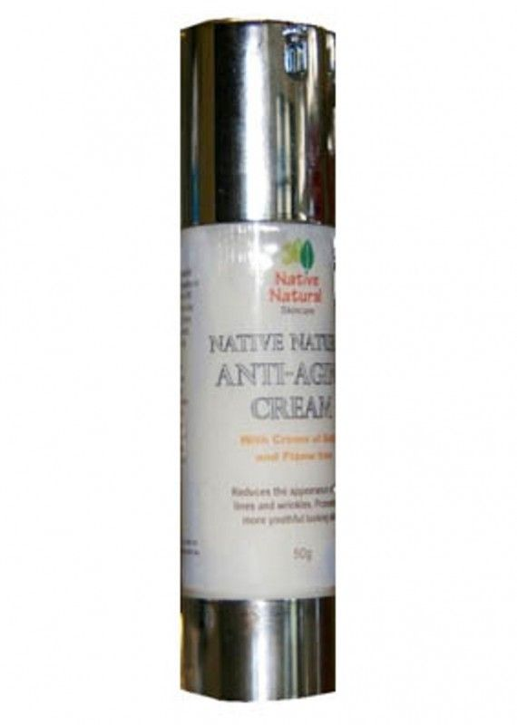 Native Natural Antiaging Cream – To nurture your skin Native Anti Aging Cream Gel contains:  Crown of Gold provides flavones which are 100 times more potent than Vitamin C and 25 times more potent than Vitamin E. With its powerful anti-inflammatory and antioxidant activity from Gallic acid and Ferulic acid, Crown of Gold also promotes a more youthful, hydrated appearance.   Kakadu Plum contains the world's highest levels of ascorbic acid (Vitamin C) and helps reduce the...