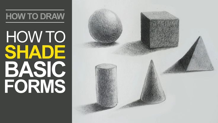 How to Shade Basic Forms