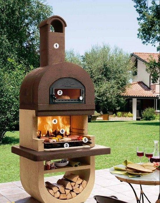barbecue diva en pierre avec four acier inox profitez de. Black Bedroom Furniture Sets. Home Design Ideas