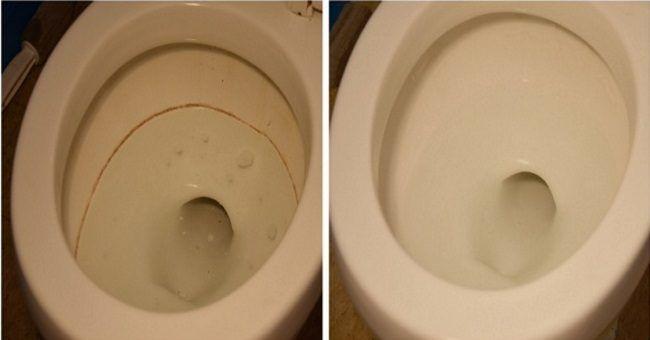 Простой, дешевый и эффективный способ очистить унитаз / Как сэкономить