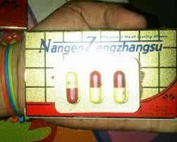 Obat kuat alami Nangen Zengzhangsu merupakan obat kuat sex berbentuk kapsul yang terbuat dari ramuan ginseng yang sangat ampuh untuk mengatasi masalah pada kejantanan pria seperti impotensi dan ejakulasi dini. Obat kuat alami ini sangatlah cocok bagi kaum lelaki muda / yang sudah lanjut usia, tetap ampuh kuat, mampu berkali-kali berhubungan intim.  Obat kuat alami ini diproduksi oleh perusahaan berlabel Fuzhou Youknow Co.,Ltd di Fujian China. Obat kuat Nangen Zengzhangsu dijamin kualitasnya