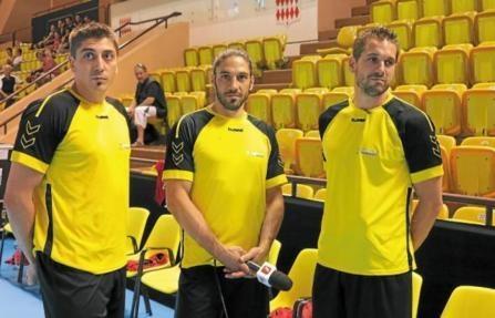 Les trois frères de handball français!