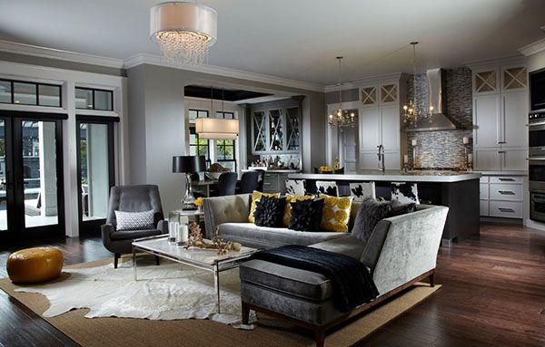 Living Room Design Ideas-11-1 Kindesign.  Black accents
