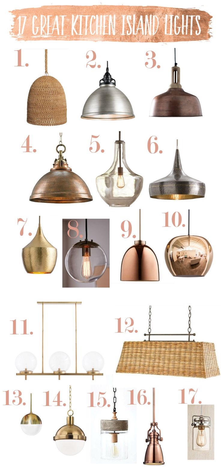 Today I am sharing some of my favorite kitchen island lights. For kitchen island light spacing, see my previous post, Kitchen Island Lighting Guide. I am doing shopping for my own remodel and it has been fun because there is such a wide selection and pricing for every budget. Too check outour remodel, see Our Fixer Upper is Happening. Rattan Pendant $493.50. Houzz. Wouldn't this look great in the beach house we dream of having?! I'm featuring this one first because a readerrecently…