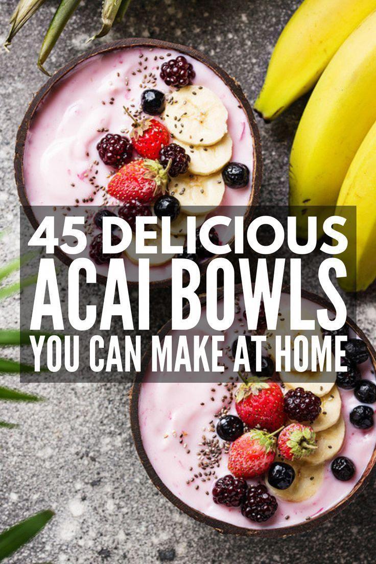 Wie man Acai Schalen macht   Möchten Sie wissen, wie man Acai-Schalen zu Hause macht? Wir sind sh …   – smoothie bowl