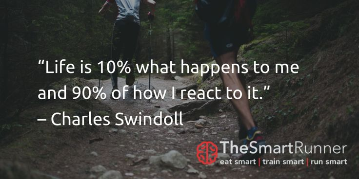 """""""Life is 10% what happens to me and 90% of how I react to it."""" – Charles Swindoll"""
