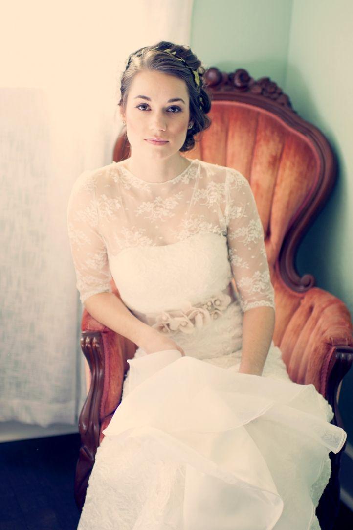 vintage bohemian bride