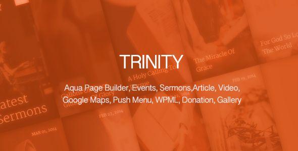 Trinity - Responsive Church Theme - Churches Nonprofit