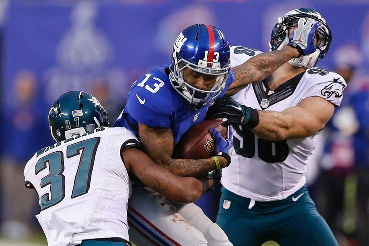 Giants vs. Eagles gameday photos