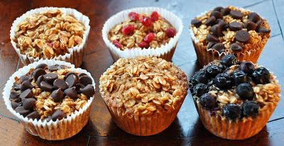 21-Day Fix Oatmeal Cups - Counts as 1 Yellow, and 1/2 Purple (for the fruit). Replace Milk with almond milk.