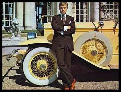 Robert Redford as Jay Gatsby