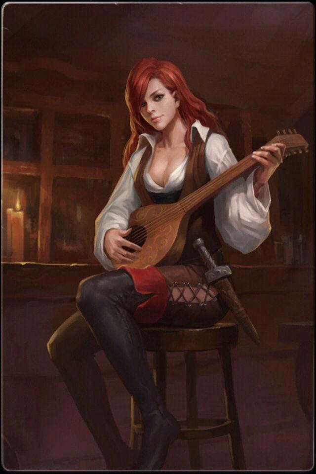 Aunque su instrumento es el arpa, Beth es capaz de tocar casi cualquier instrumento de cuerda.