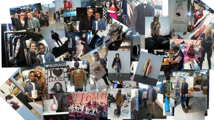 Mooie fotocollage van de Modefabriek 2013!