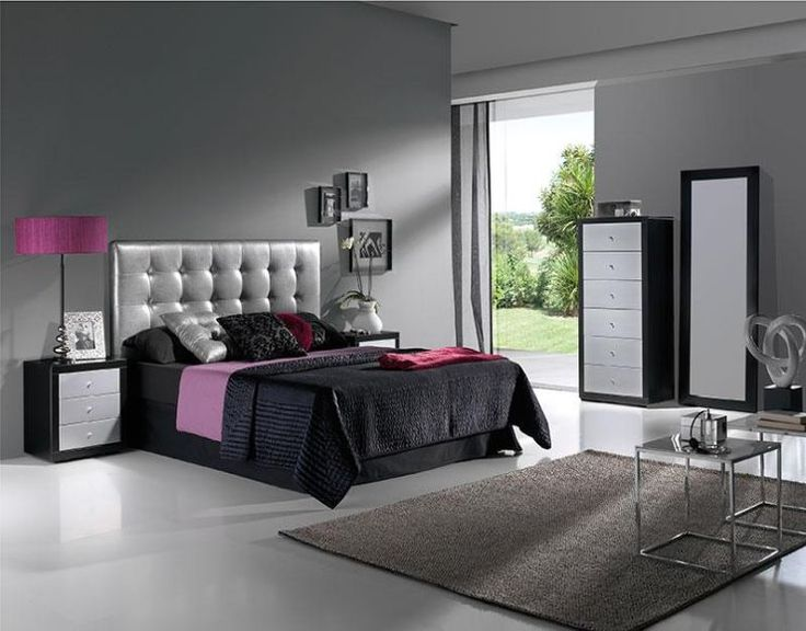 Mirror finish bedroom furniture