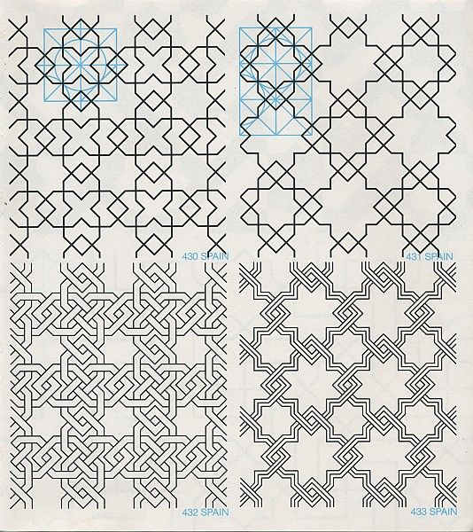 GPB 054 : Geometric Patterns & Borders, David Wade   Pattern in Islamic Art