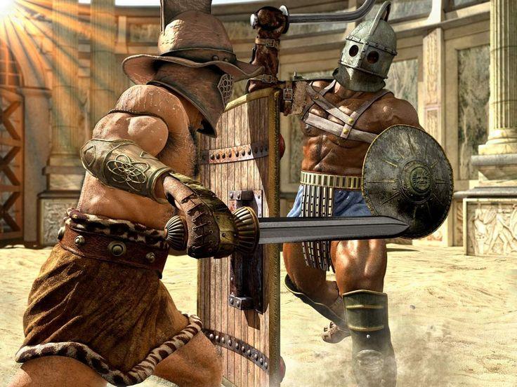 Gladiator's by Fernando Russo - 3D Artist.