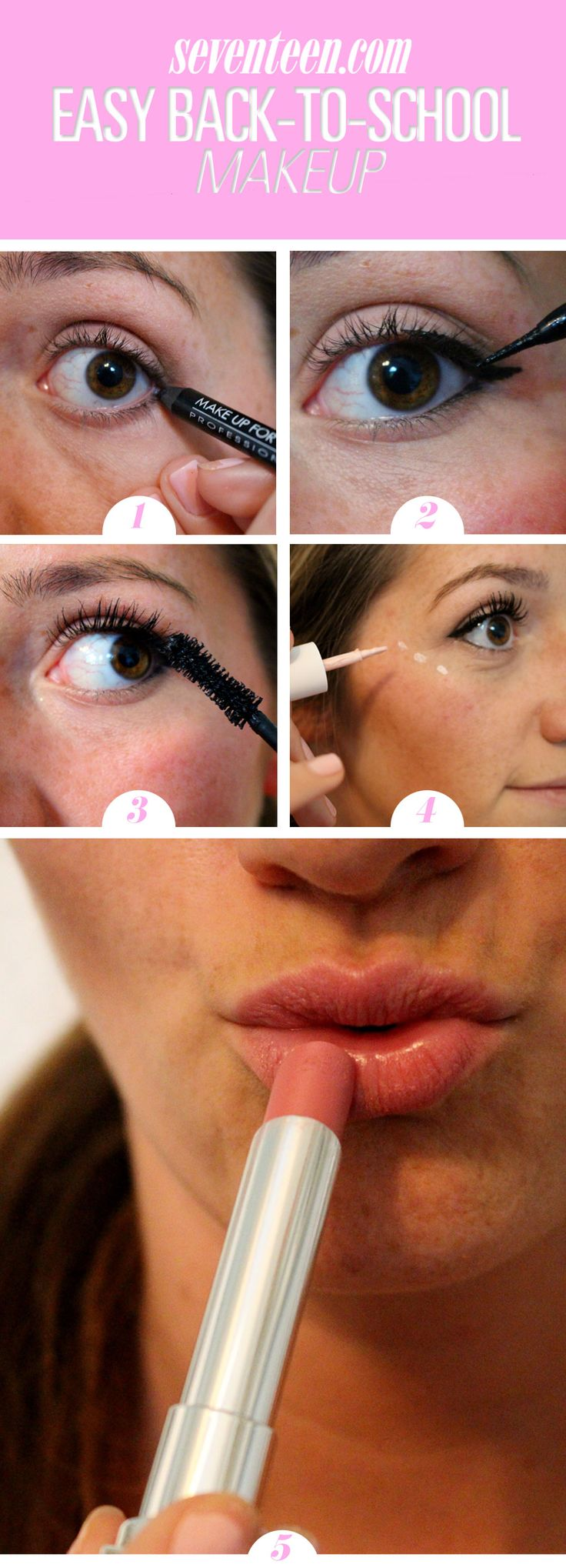 Easy Back-to-School Makeup Tutorial You Can Do in Under 5 Minutes