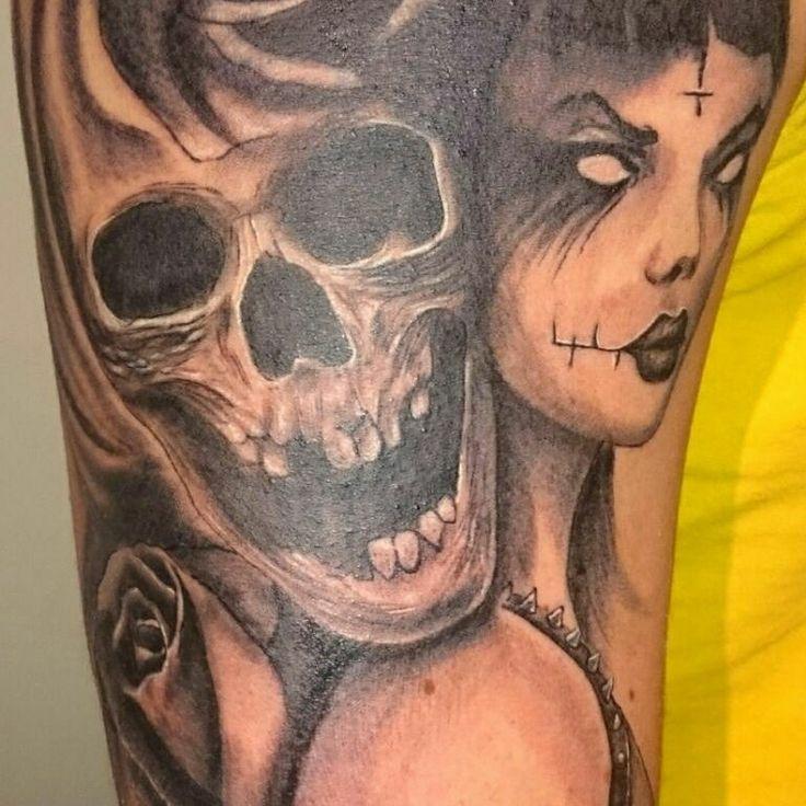 Tattoo by Dan custom tattoo Edinburgh