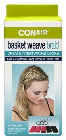 Conair Basket Weave Braid Kit - 11 Count