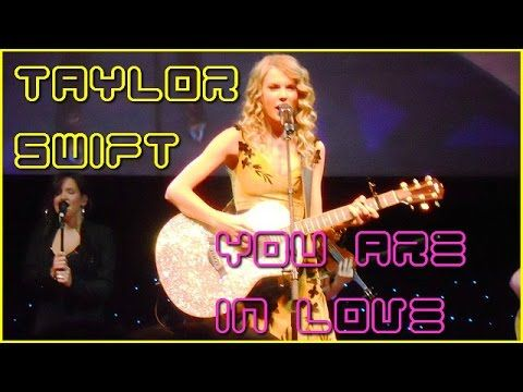 Taylor Swift ● You Are In Love ● [Song Lyrics]