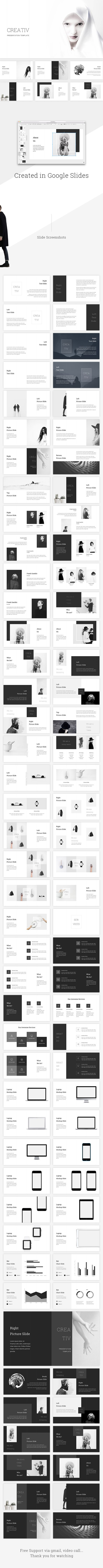 Creative Google Slides Template - Google Slides Presentation Templates