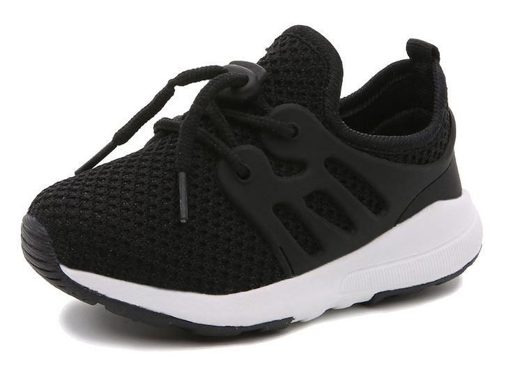 iDuoDuo Boys and Girls Lightweight Ruinning Shoes Breathable Toggle Sport Shoes Kids Sneakers Black 10 M US Toddler. Unisex kids running shoes with toggle closure, easy to pull on and off by themselves. Featuring classic solid color with comfortable and wearproof knit mesh fabric material. Anti-collision toe and stripes rubber patch sides, fashion and bring kids better wearing experience. Breathable and comfortable mesh and cotton lining brings kids better wearing experience. Soft and...