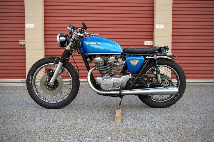 honda cb450 brat cafe racer motorcycle pinterest honda and cafe racers. Black Bedroom Furniture Sets. Home Design Ideas