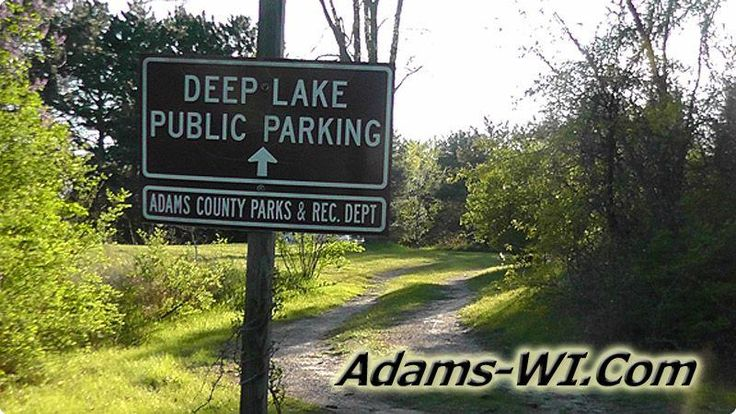 #lakeswi Deep Lake is located in Adams County Wisconsin here you can find Info, Maps, Photos, Aerial Images plus Area Information like nearby Lakes, Public Land, Townships and communities. #adamscountywi