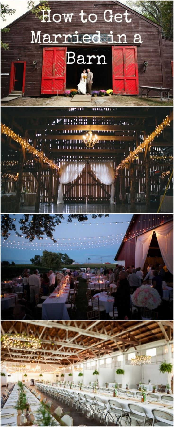 Insights Ane Idea For How To Get Married In A Barn