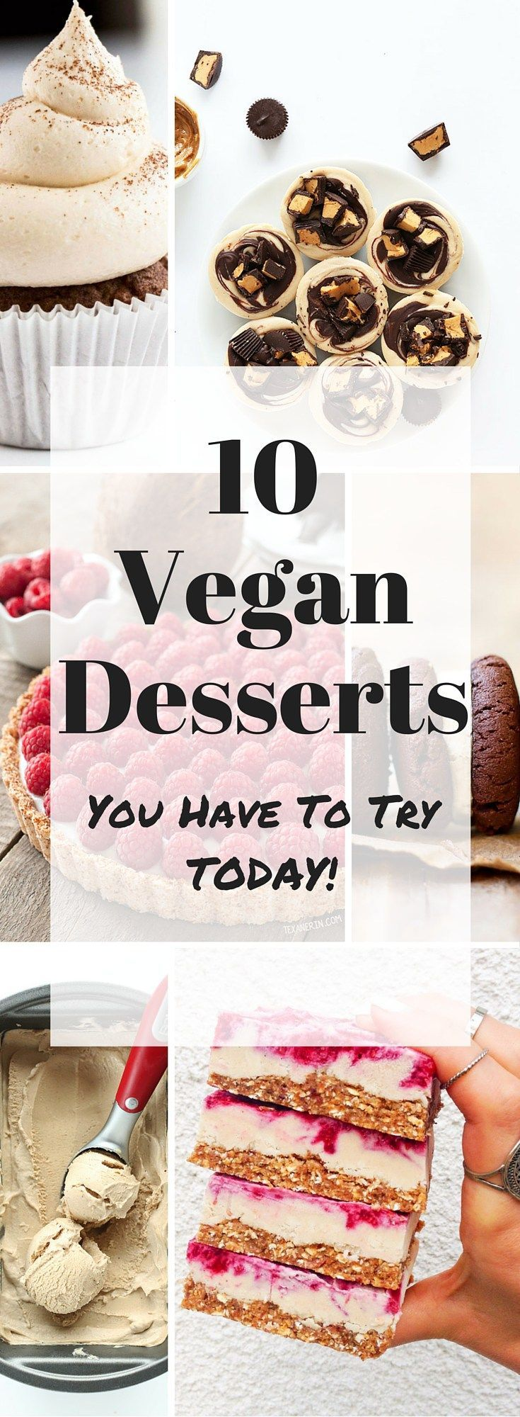 10 Vegan Dessert Recipes {You Must Try Today}